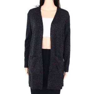 Madewell Charcoal Duster Cardigan Wool NWT